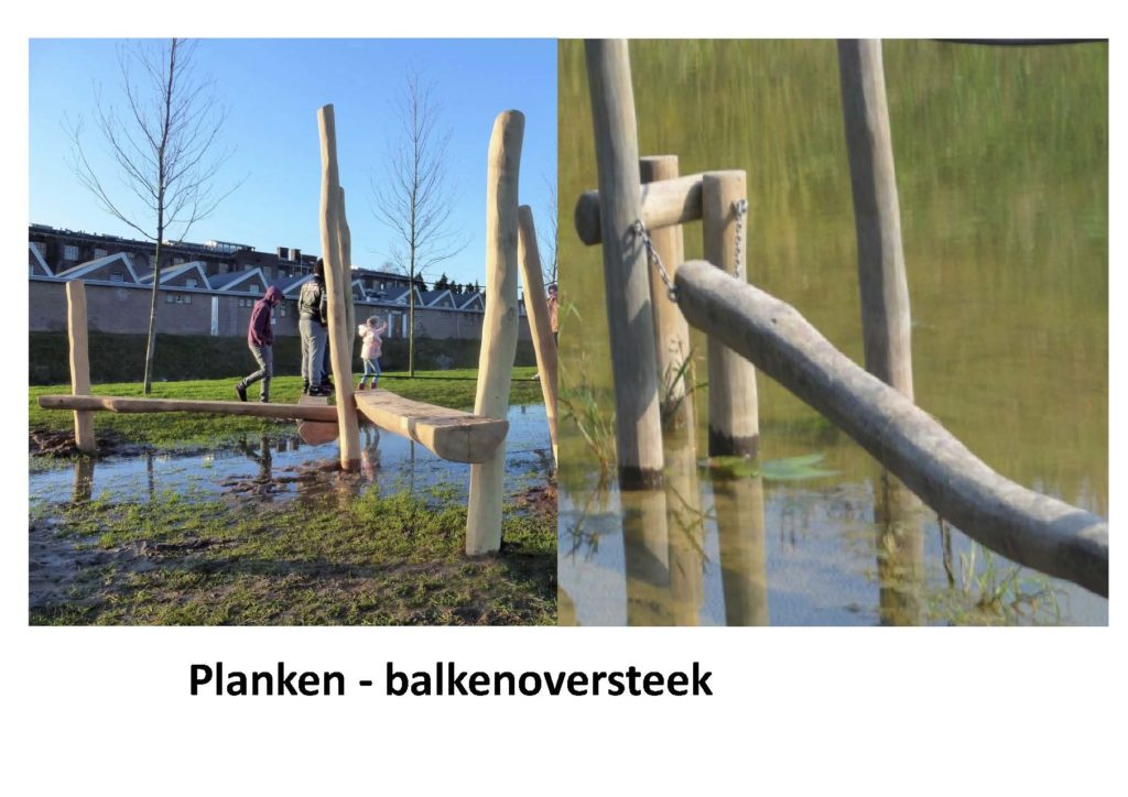 Planken - balkenoversteek